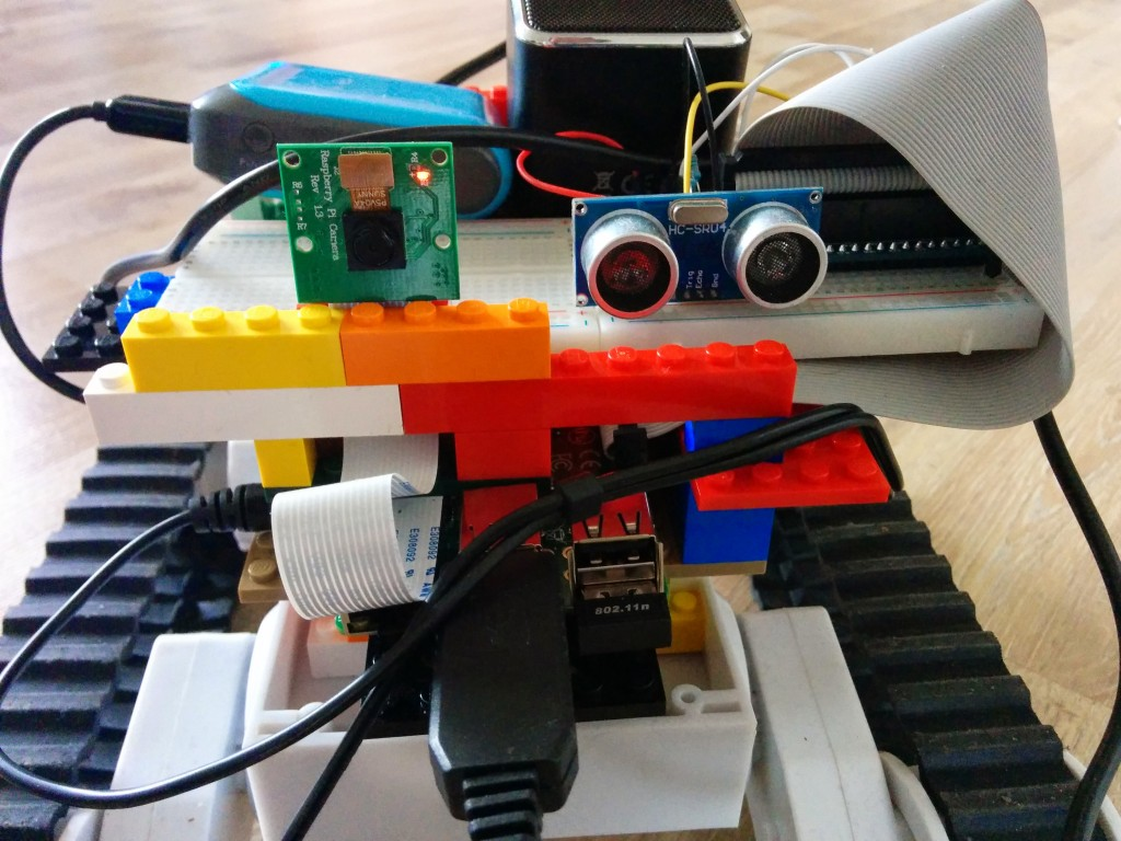 Pi Rover with range finder